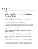 WWII Unit Hitler NYT Article + MC Questions + Answer Key