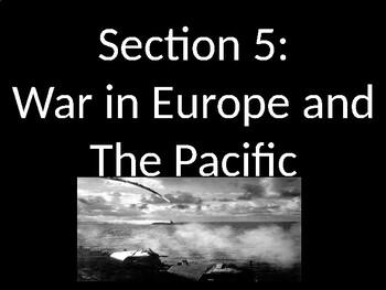 WWII - War in Europe PowerPoint