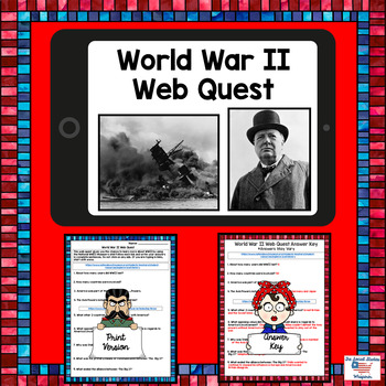 WWII Web Quest