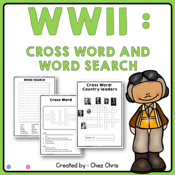WWII games - Wordsearch and Crosswords