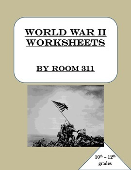 WWII Worksheets