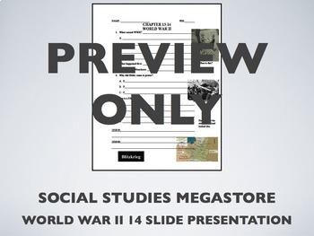 Intro to World War II World History
