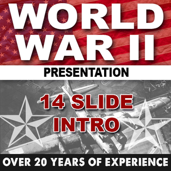 Intro to World War II World History