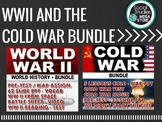 WORLD WAR II (WWII), HOLOCAUST, COLD WAR, READING AND WRITING  ACTIVITY BUNDLE