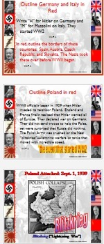Honors / World / American History - WWII---Student Centered complete unit