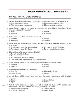 WWII in HD Worksheets & Puzzles: ENTIRE SERIES BUNDLE, Quiz Pack & Location List
