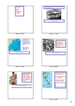 WWII in Order--The Pacific Theatre -- SmartBoard Presentation/Games