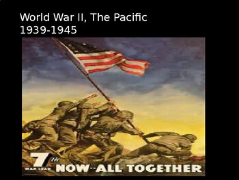 WWII the Pacific Theater