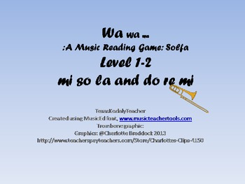 Wa Wa Wa: A Singing Game Level 1 and 2