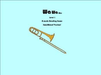 Wa, Wa, Wa, Level 1: A singing game SmartBoard version