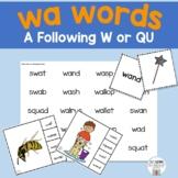Wa Words Mini Unit