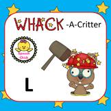 Wack-A-Critter /L/ Articulation Cards