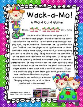 Wack-A-Mo - Long I CVCe- Reading Street Gr 1 Unit 2 Week 3