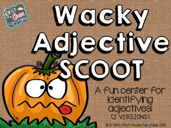 Wacky Adjective SCOOT