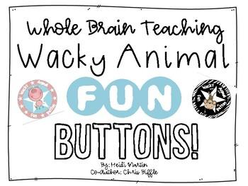 Wacky Animal FUN Buttons!