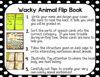 Wacky Animal Flip Book