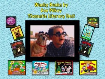 Wacky Books by Dav Pilkey Thematic Literacy Unit: Covers C