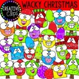 Wacky Christmas Clipart (Creative Clips Clipart)