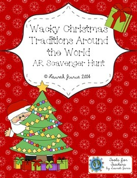 Wacky Christmas Traditions Around the World Augmented Reality Scavenger Hunt