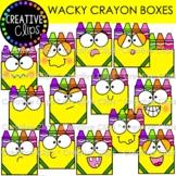 Wacky Crayon Boxes (Crayon Clipart)