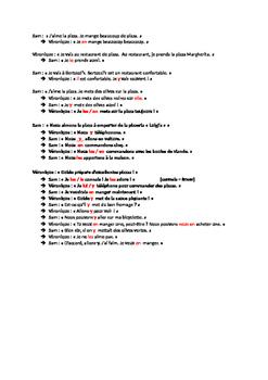 Wacky French Object Pronoun Review