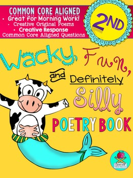 Wacky, Fun, and Definitely Silly Poetry Book {2nd Grade CO