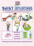 Wacky Inventions 4 Skills Language Development Set