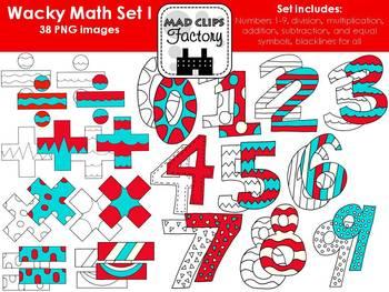 Wacky Math Set #1