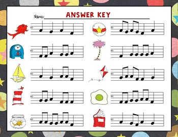 Wacky Melodies, Write the Room, Re (MRD)