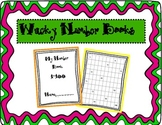 Wacky Number Writing Books