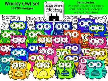 Wacky Owls
