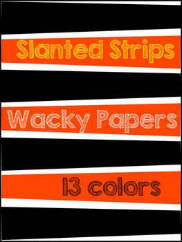 Wacky Papers Colorful Backgrounds