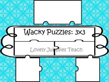 Wacky Puzzles: 3 pieces