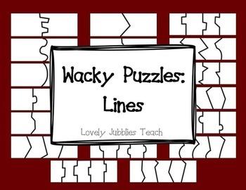 Wacky Puzzles: Lines