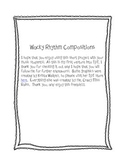Wacky Rhythm Composition Project