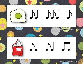 Wacky Rhythms, Write the Room - Practice Syncopa