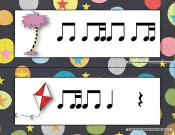 Wacky Rhythms, Write the Room - Practice Ti-tika