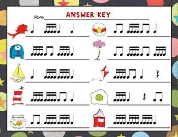 Wacky Rhythms, Write the Room - Practice Tika-tika