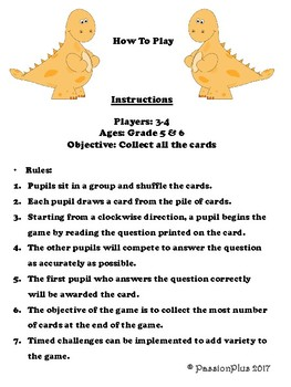 Wacky Science Game for Grade 5 Singapore Science Learning Centre & Activities