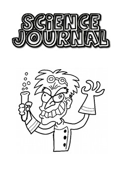 Wacky Scientist - Science Journal Cover