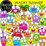 Wacky Summer Clipart {Creative Clips Clipart}