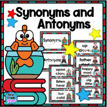 Wacky Synonym and Antonym Word Sort