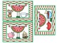 Wacky Watermelons                       A Rhyming Game and