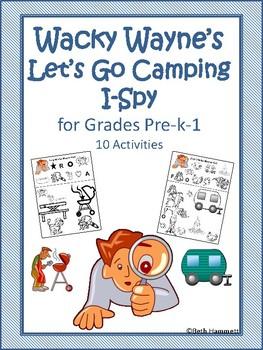 Wacky Wayne's Let's Go Camping I-Spy