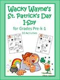 Wacky Wayne's St. Patrick's Day I Spy
