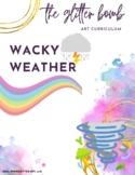 Wacky Weather - 12+ Art Lesson Bundle - The Glitter Bomb