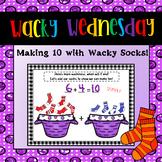 Dr Sesuss Wacky Wednesday Activity - Making Ten Math Craft