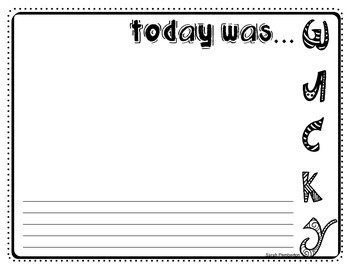 Wacky Wednesday Dr. Seuss Writing Pages x8