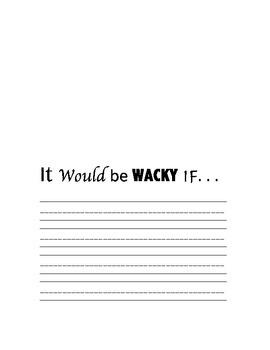 Wacky Wednesday Template