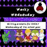 Wacky Wednesday - Writing Prompts - Morning Work - Charact